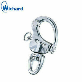 "Wichard 90mm ""HR"" Snap Shackle: Swivel Eye"