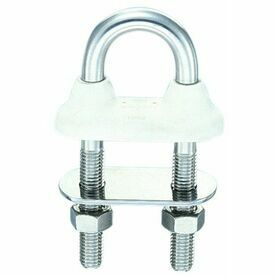 Wichard 6mm W/Tight U-Bolt Long- White