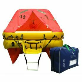 Ocean Safety Ocean ISO 6V 6 Person Liferaft >24 Hour Pack