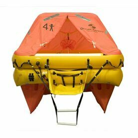 Ocean Safety Ocean 4C 4 Person ISO9650 SOLAS B Liferaft