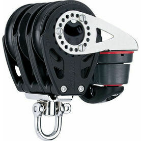 Harken 57 mm Triple Ratchet Block Swivel, Cam Cleat