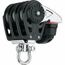 Harken 40 mm Triple Block Swivel, Cam Cleat