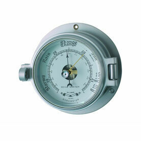 Meridian Zero Matt Chrome Channel Barometer