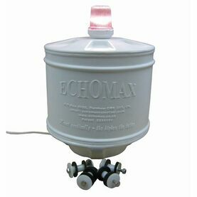 Echomax EM230 Compact Base Mount Radar Reflector with all-round white light