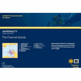 Admiralty SC5604 Channel Islands (Small Craft Folio) WGS84