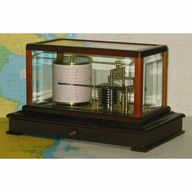 Weems & Plath Gradko Mahogany Display Barograph