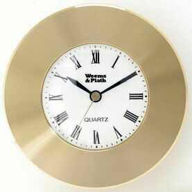 Weems & Plath Brass Clock Chart Weight