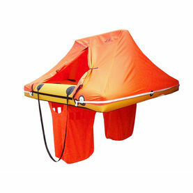 WAYPOINT 4 Person Coastal Single Tube Liferaft - Valise