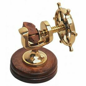 Ship's Wheel Nutcracker
