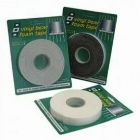 PSP Tapes Vinyl Foam Tape: 19mm x 3mm x 25M