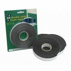 PSP Tapes Vinyl Foam: 12Mmx12Mmx8M-Black