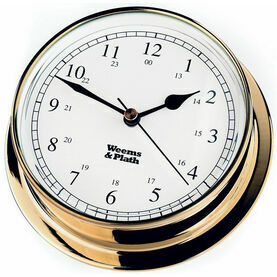 Weems & Plath Brass Endurance 125 Clock