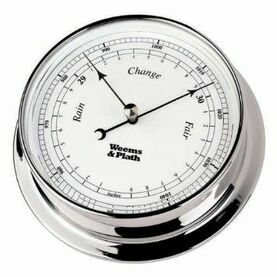 Weems & Plath Chrome Endurance 085 Clock - various options