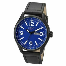 Nauticalia Limit Pilot Watch - Black/Blue