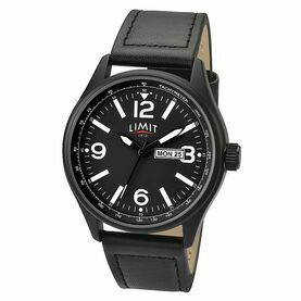 Nauticalia Limit Pilot Watch - Black/Black
