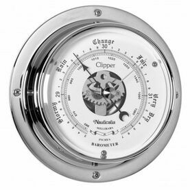 Nauticalia Clipper Barometer (QuickFix) Chrome