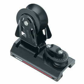 Harken 27 mm High-Load Adjusterustable CB Car Sheave, Dead End, 3:1