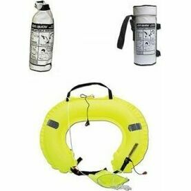 Ocean Safety Jonbuoy Horseshoe Hard Case Double