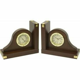 Nauticalia Bookends, Clock & Thermometer