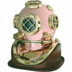 Nauticalia Wooden stand for Diver's Helmet (7121)