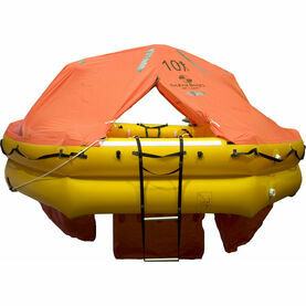 Ocean Safety UltraLite 10 Person Carbon Canister Liferaft