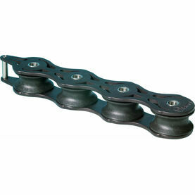 Wichard 32mm ball bearing Deck Organiser.: Quadruple