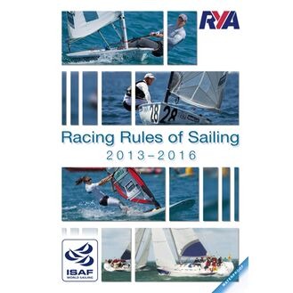 RYA Racing Rules of Sailing 2013-2016