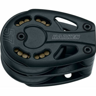 Harken 57 mm Aluminum Double Footblock