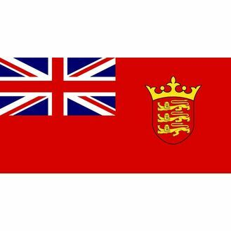Meridian Zero Jersey Red Ensign Flag - 30 x 45cm