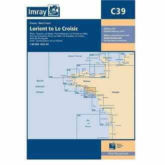 Imray C39 Lorient to Le Croisic