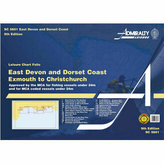 Admiralty SC5601 East Devon & Dorset Coast Exmouth to Christchurch