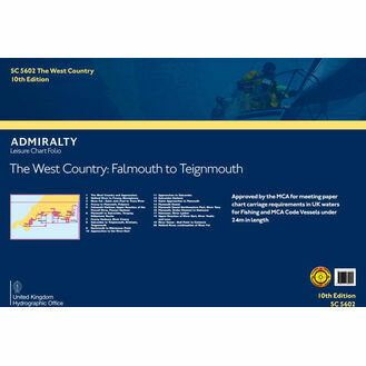 Admiralty SC5602 West Country Falmouth to Teignmouth (Small Craft Folio)