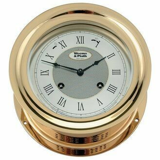Weems & Plath Anniversary Series Brass Clock/Barometer