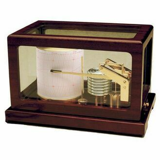 Weems & Plath Dampened Deluxe Barograph