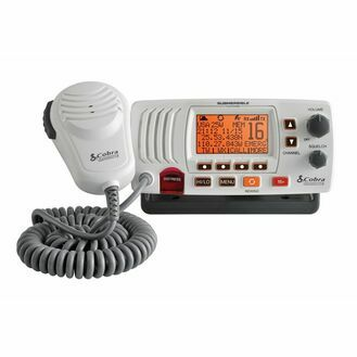 Cobra F57 Fixed VHF Marine Radio - White