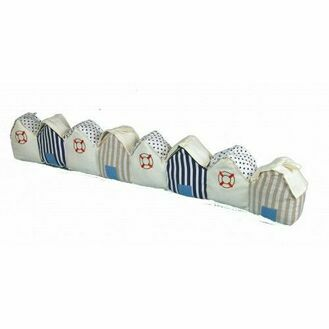 Draught Excluder - Stripey Beach Huts