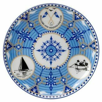 Swallows and Amazons Fine Bone China  -  Coaster 12cm