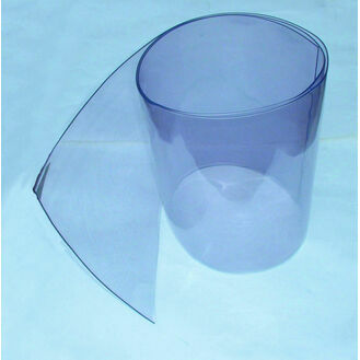 Clear PVC Rolls 30cm wide, 2mm thick, per metre (or roll size)