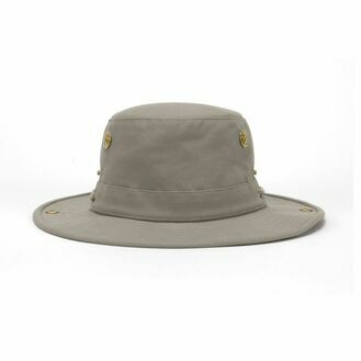 Tilley T3 Medium Brim Snap-Up Hat - Khaki
