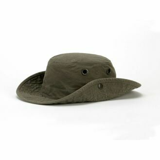 Tilley T3 Medium Brim Snap-Up '' The Wanderer'' Hat - Vintage Olive