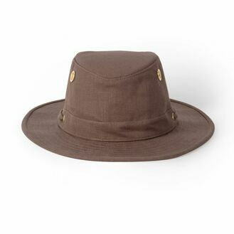 Tilley TH5 Medium Brimmed Hemp Hat - Mocha