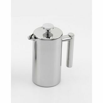 Stainless Steel Cafetiere - Double Walled