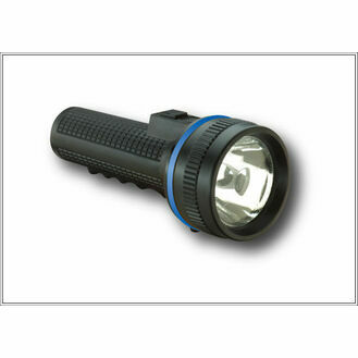 Ocean Safety Uni-Lite LED 2 Cell Rubber Torch (UK42)