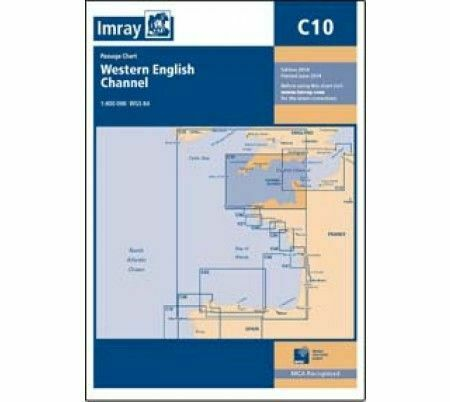 Imray c10 western english channel passage chart only 1800 imray c10 western english channel passage chart ccuart Image collections