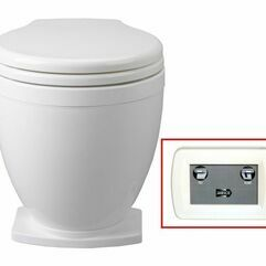 Jabsco Lite Flush 24V With Foot Switch Toilet Spares - 58500-0024