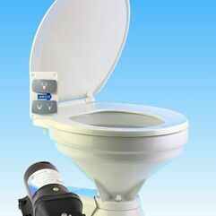 Jabsco Quiet Flush Regular 12V Electric Sea or River Water Flush Toilet Spares - 37245-1092