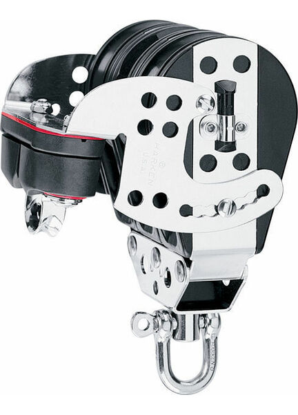 Harken 76 mm Triple Midrange HexaRatchet Block Cam Cleat