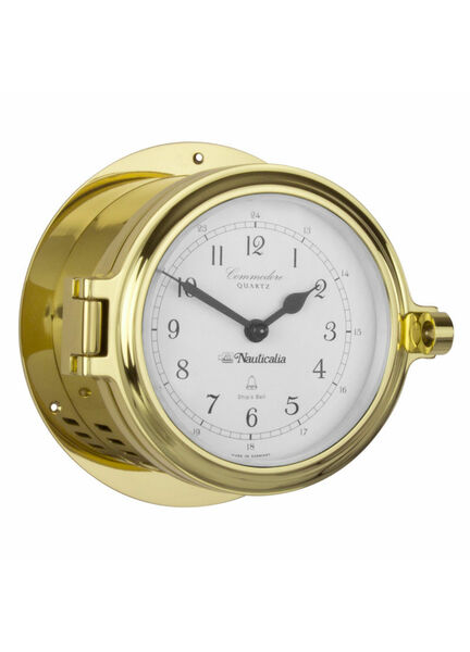 Nauticalia Commodore Clock (Quartz)