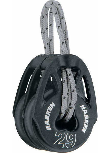 Harken 29 mm Soft-Attach Double Block