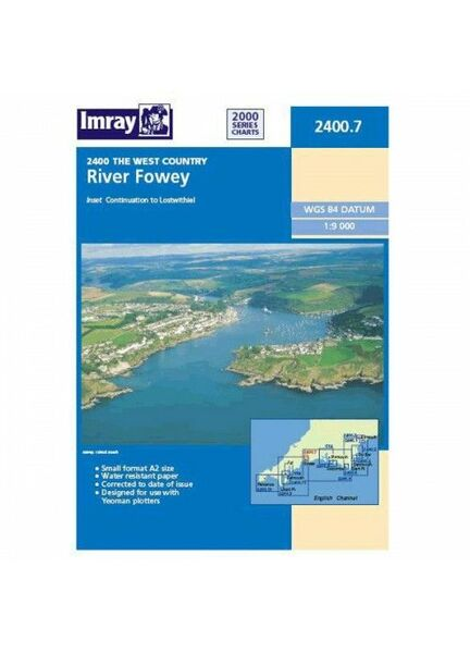 Imray 2400.7 River Fowey to Lostwithiel (this replaces Y52)